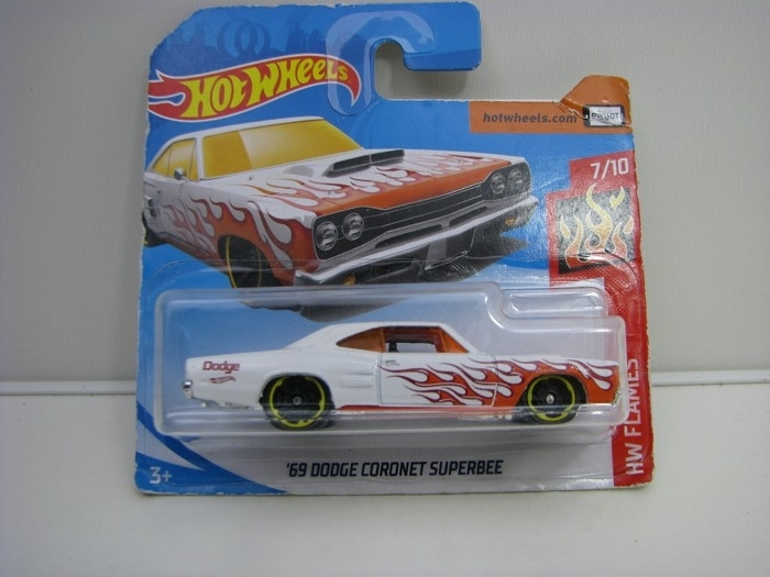 Dodge Coronet Superbee Red Hot Wheels Flames-2018-FJW66